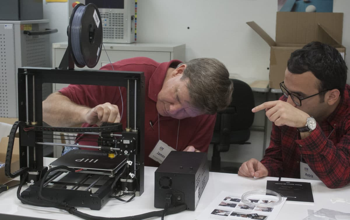TEAMM Network Member Creates Additive Manufacturing Studio