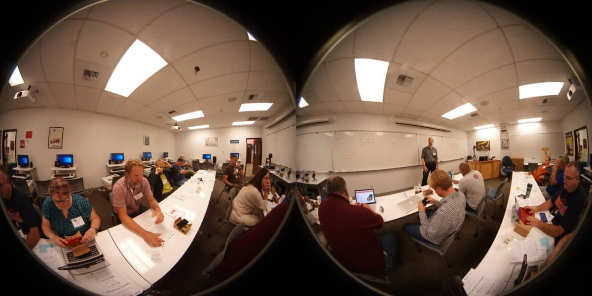 A Day In The Life Of Virtual Reality Workshop Participants