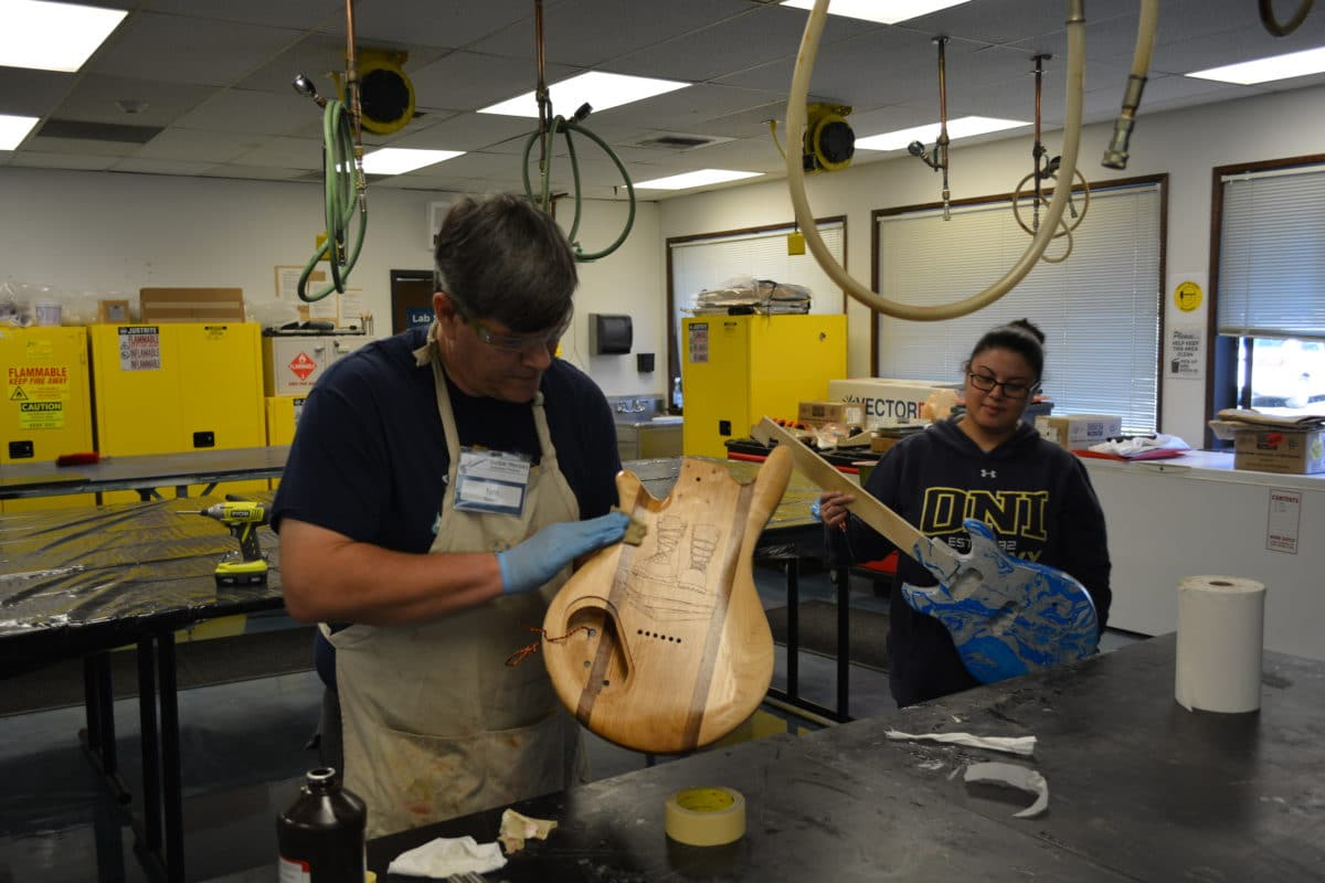 Guitar Building For Veterans In Puget Sound