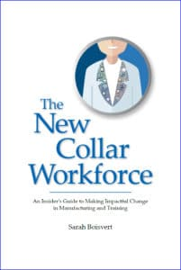 New Collar Workforce book by Sarah Boisvert