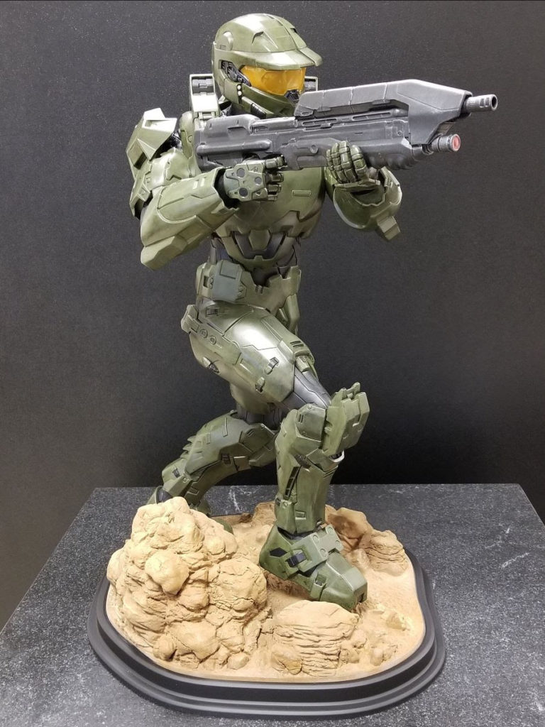 "Met-L-Flo ties for First Place Award at AMUG 2019 with ""Master Chief"""