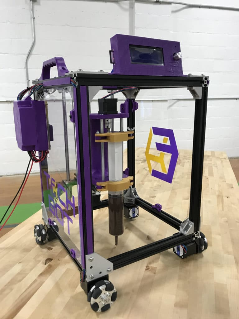 TTU TechBot 3D Printer