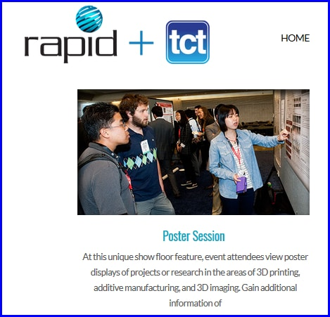 TTU Engineering Students To Present Posters At SME RAPID + TCT 2019