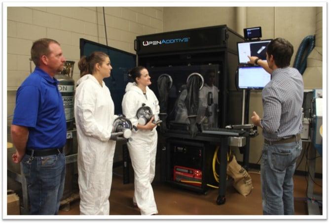 SCC Metal 3D Printing PANDA System